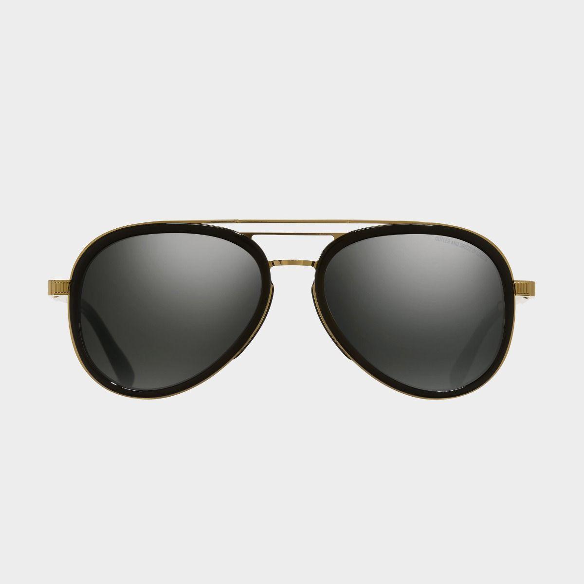 1323 Aviator Sunglasses-Black