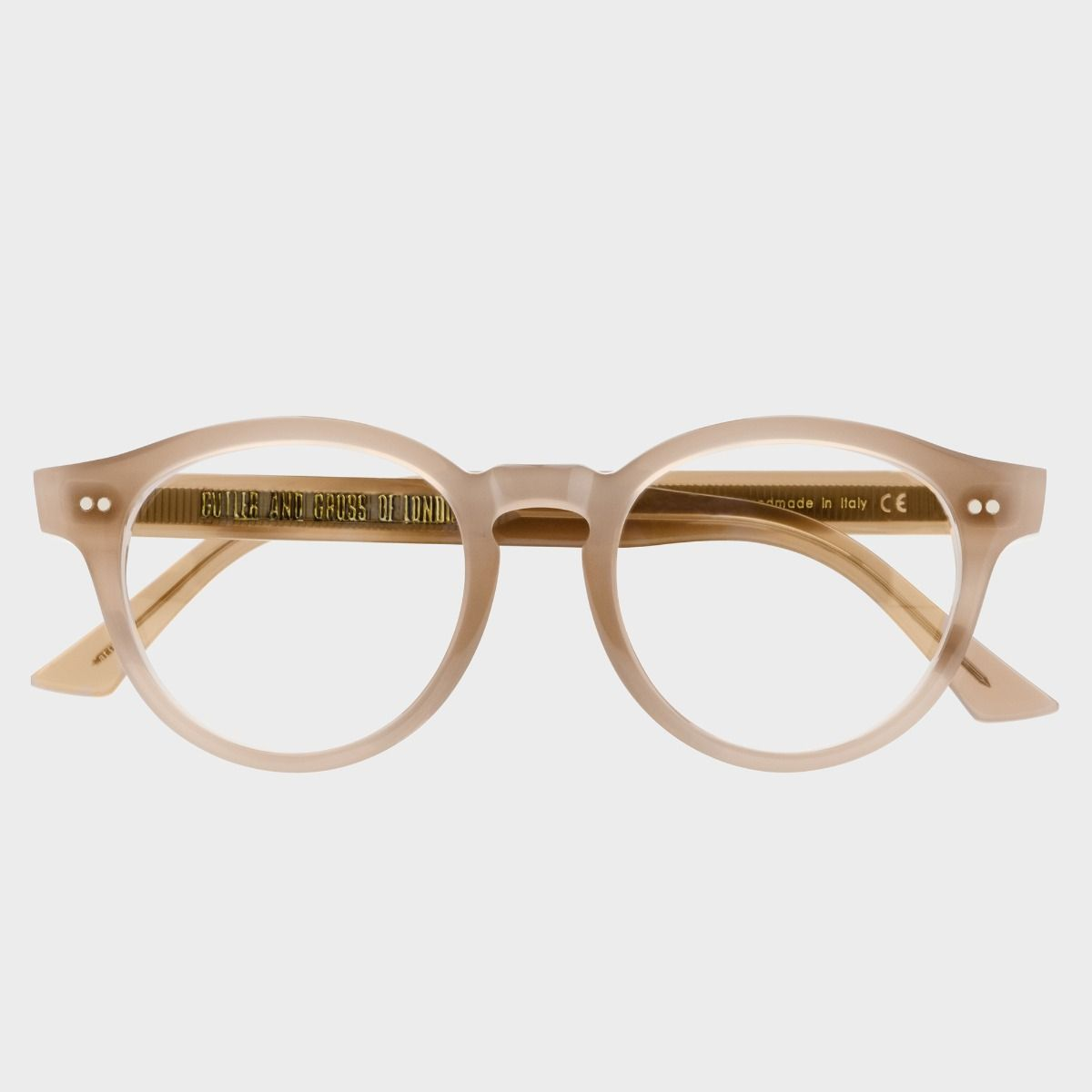1378 Blue Light Filter Optical Round Glasses (Small)