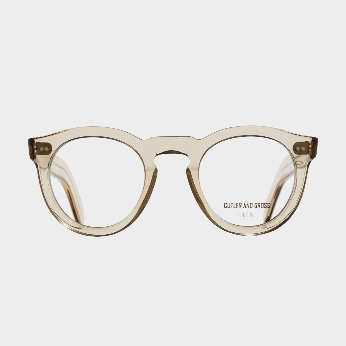 0734V3 Optical Round Glasses-Granny Chic