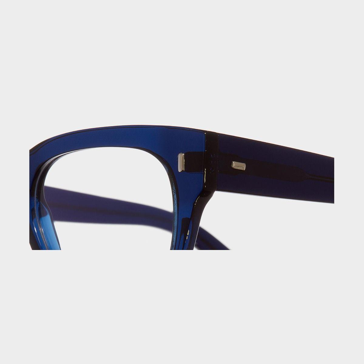 0772V2 Optical Square Glasses-Classic Navy Blue