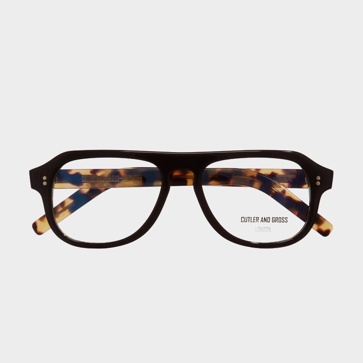 0822V2 Optical Aviator Glasses-Black on Camo