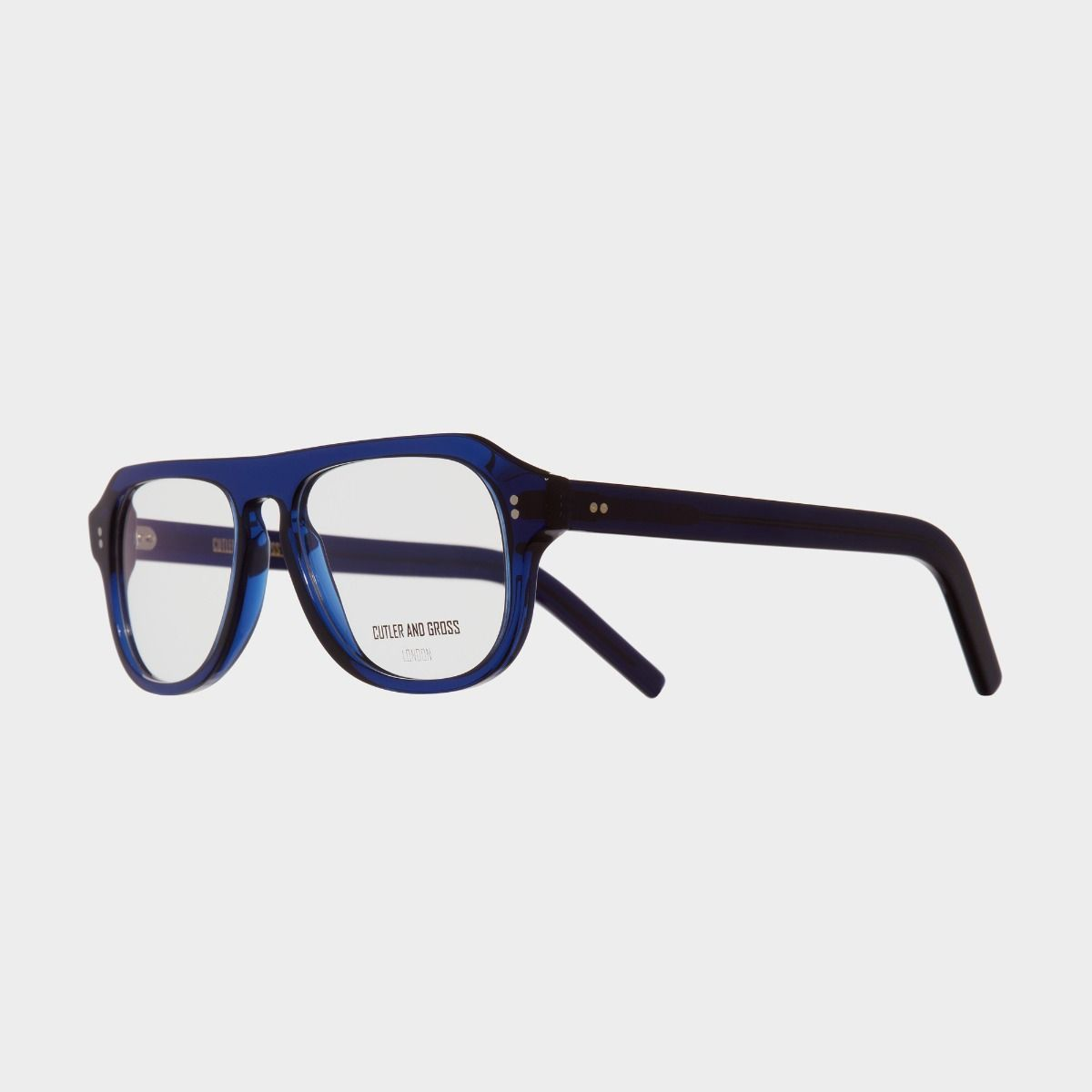 0822V3 Optical Aviator Glasses (Large)-Classic Navy Blue