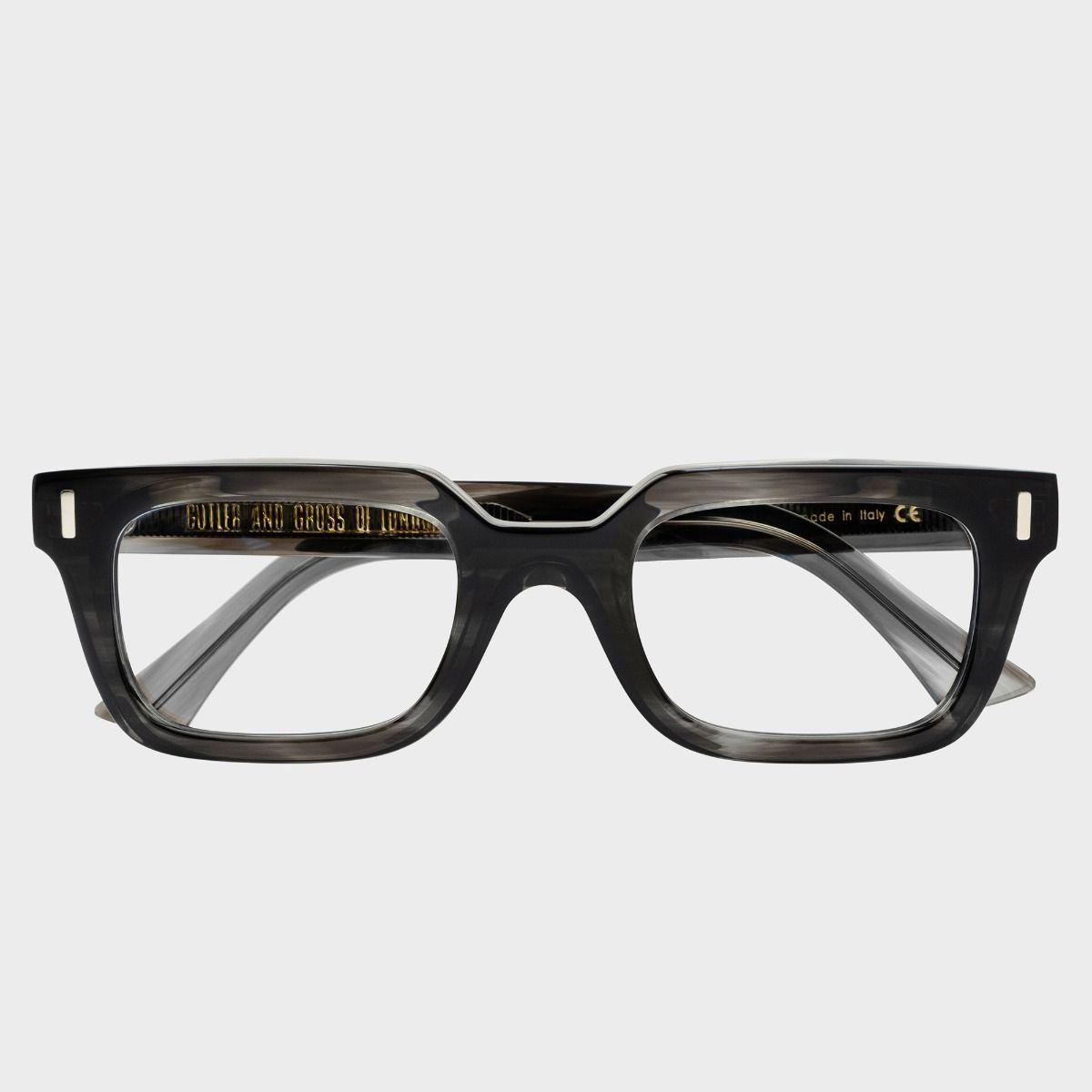 1306 Optical Square Glasses-Green Smoke