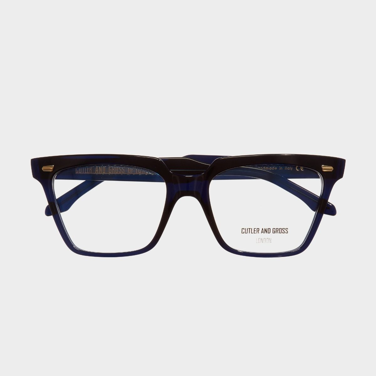 1346 Optical Square Glasses-Classic Navy Blue