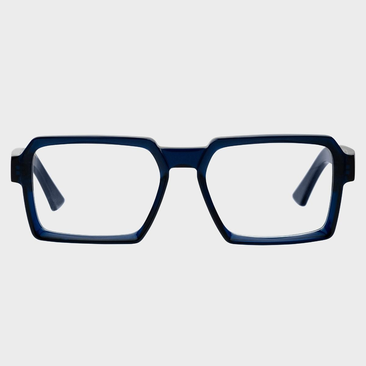 1385 Optical Square Glasses-Classic Navy Blue