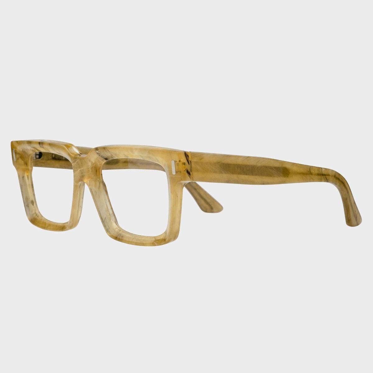 1386 Optical Square Glasses-Honey Alabaster