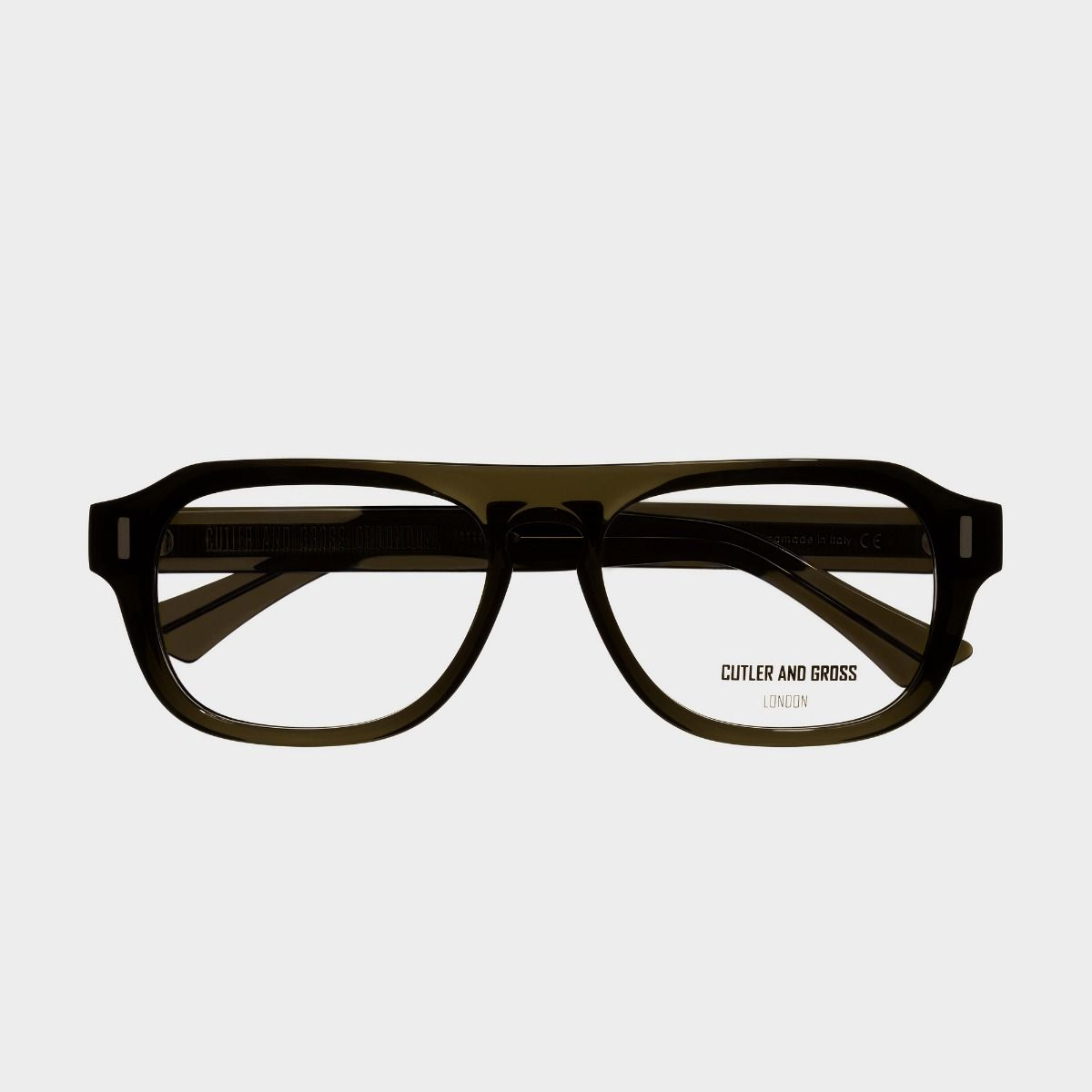 1319 Optical Aviator Glasses-Olive Green