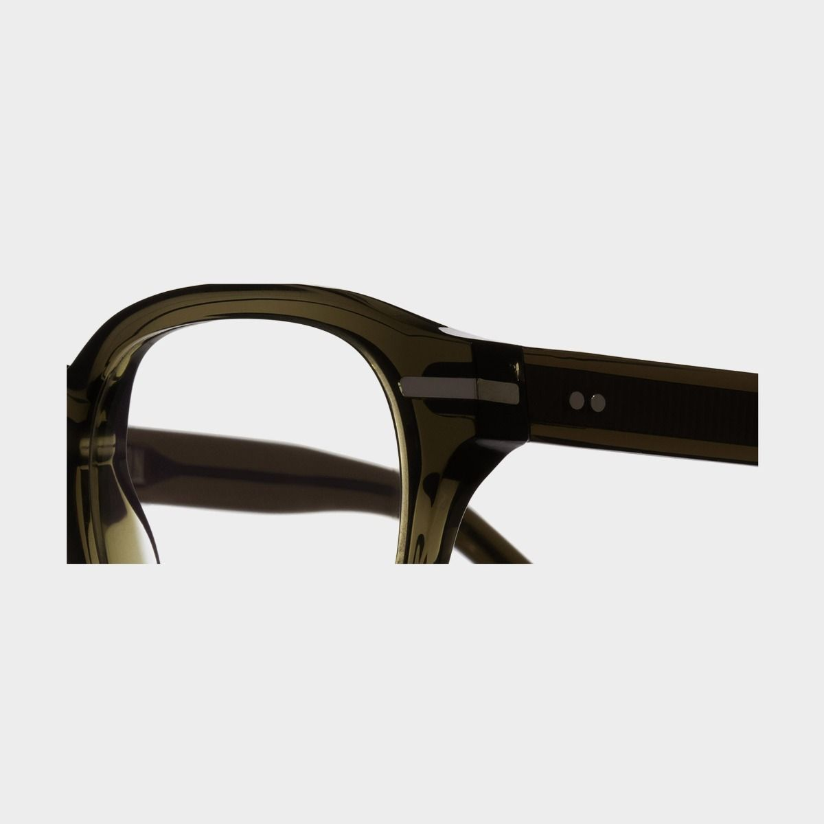 1356 Optical Round Glasses-Olive