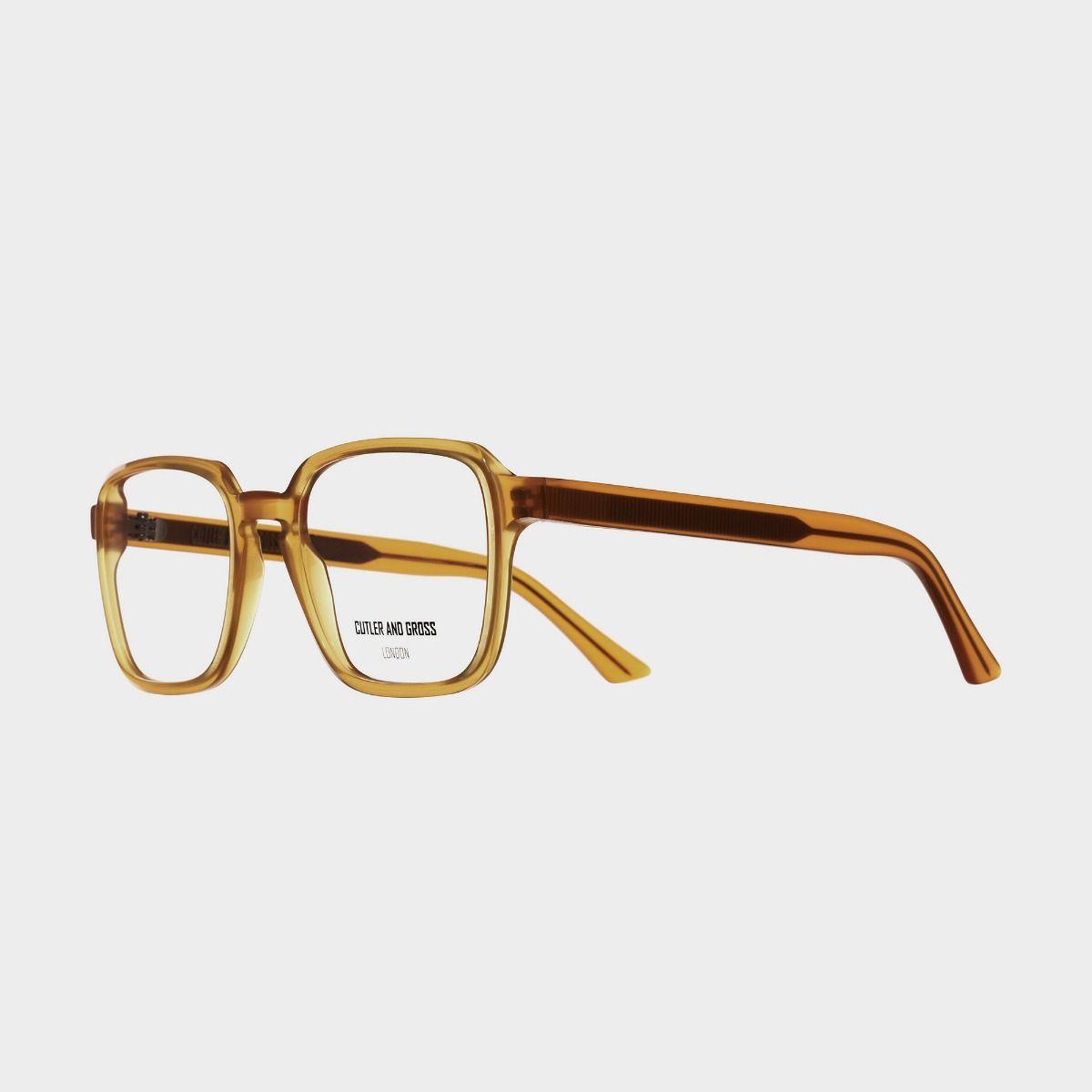 1361 Optical Square Glasses-Honey