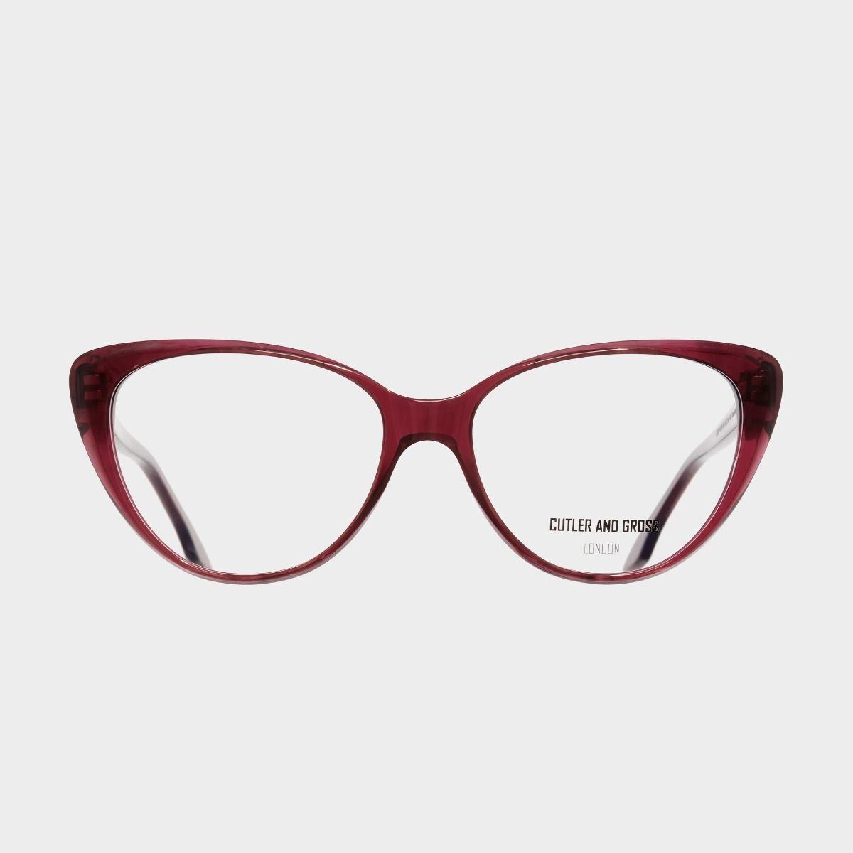 1370 Optical Cat-Eye Glasses-Red Mini