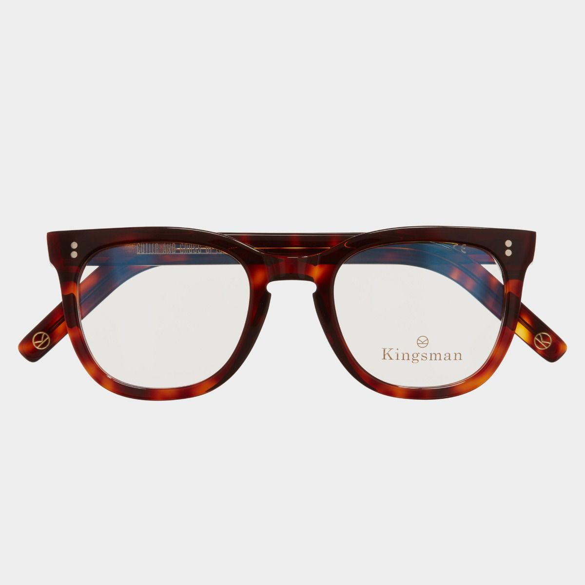 0824 Kingsman Optical Round Glasses